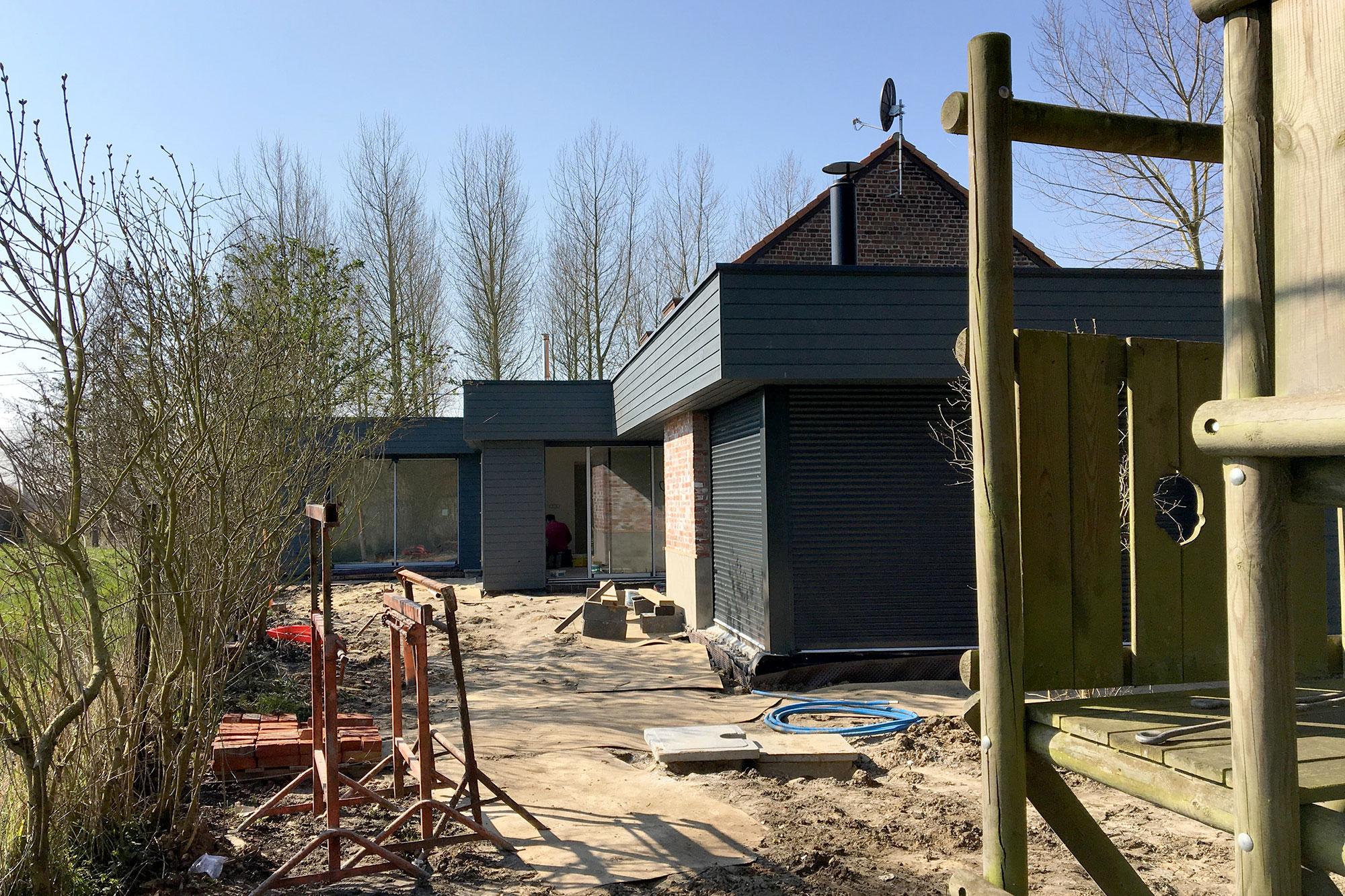 R novation compl te et extension d une maison individuelle for Projet extension