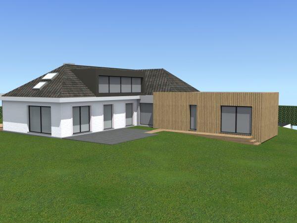 Extension et rénovation d'une maison individuelle Hem